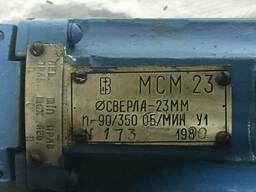 Машина сверлильная угловая пневмат. реверсивная МСМ 23 СССР