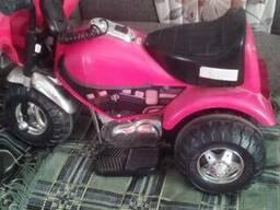 Машинка-мотоцикл дитяча
