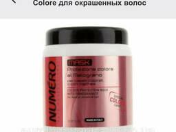 Маска Brelil Numero Protezione Colore для окрашенных волос с экстрактом граната 1000 мл