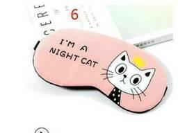 Маска для сна коты