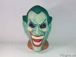 Маска Джокера. Латексная маска Джокера.