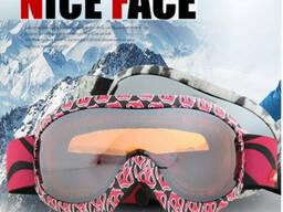 Маска горнолыжная Nice Face 925 Pink