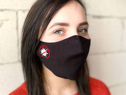 Маска многоразовая защитная «Stop virus»