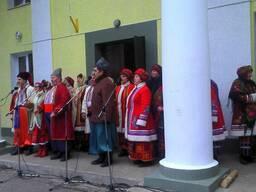 Масленица в Диканьке и Полтаве из Харькова
