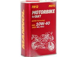 Масло 4-тактное для мототехники Mannol Motorbike 10W40 1L