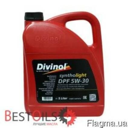 Масло 5W-30 Syntholight DPF Divinol с допусками MB, VW, BMW