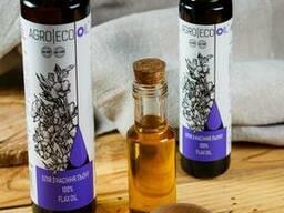 Масло из семян льна (олія з насіння льону)
