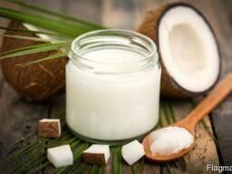 Масло кокосовое нерафинированное очень вкусное и свежее