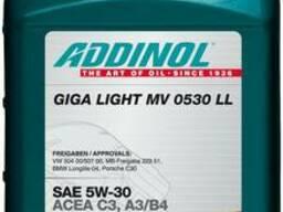 Масло моторное Addinol 5W-30 Giga Light MV 0530 LL 1л