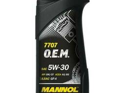 Масло моторное Mannol 5W-30 7707 O.E.M. for Ford Volvo 1л