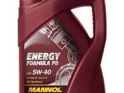 Масло моторное Mannol 5W-40 Energy Formula PD 5л
