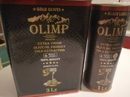 Масло оливковое Олимп Э/В 1л,3л,5л