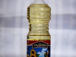 Масло подсолнечное фассованое по Украине и на экспорт