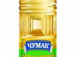 Масло подсолнечное нерафинированное Домашнее Чумак 0.5л