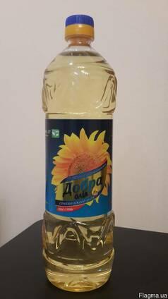 "Масло рафинированное ТМ ""Добра олія"" 1л/920г"