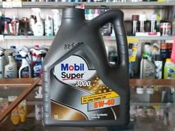 Масло синтетическое 5w40 Mobil Super 3000 4л