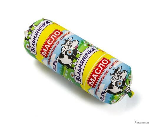 """Масло сладкосливочное """"Селянское"""" 72,5% в батонах по 500 г"""