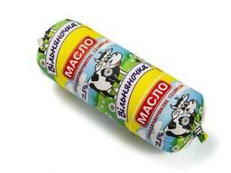 Масло сладкосливочное Селянское 72,5% в батонах по 500 г