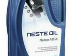 Масло трансмиссионное Neste ATF-X, 1л, красный