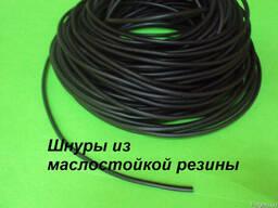 Маслобензостойкая резина шнур