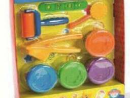 Масса для лепки (тесто) Play Toys Fun Set (4 цвета)