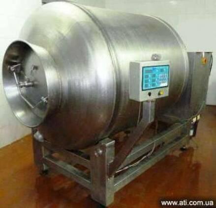 Массажер вакуумный для мяса PSS на 2000 л, б/у после сервиса