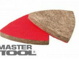 MasterTool Насадка треугольная войлочная тонкошерстная на. ..