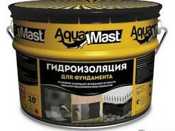Мастика AquaMast для фундамента 10 кг