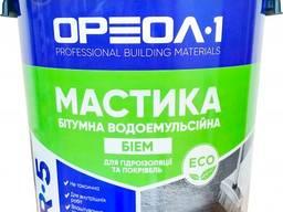 Мастика бітумно-емульсійна Ореол-1 БіЕМ R-5 20 кг