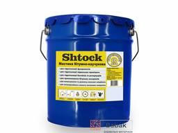 Мастика бітумно-каучукова Shtock відро 10кг
