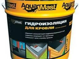 Мастика битумно-резиновая AquaMast Кровля 18кг