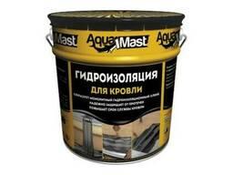 Мастика битумно-резиновая кровельная холодная AquaMast 18кг