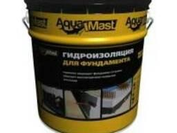 Мастика гидроизоляции AquaMast для фундамента