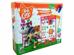 """Математика на магнитах Vladi Toy """"44 Cats"""" (укр) (VT5411-08)"""