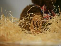 Материал древесная шерсть