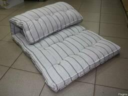 Матрас ватный, мебельная ткань, из наличия. Опт