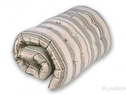 Матрас ватный ткань тик хлопок размер 190х70, полуторка