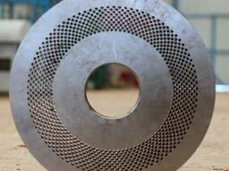 Матрицы плоские для производства гранулы