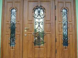 МДФ накладки для металлических дверей
