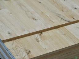 МДФ плита покрытая шпоном Дуба в сучках (под паркет) 19 мм
