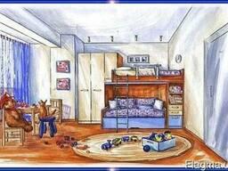 Мебель для детской комнаты. Детская мебель на заказ -Харьков