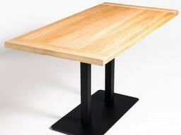 Деревянные столы для кафе от производителя комплект