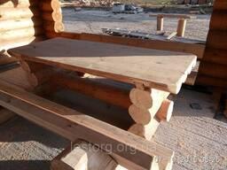 Мебель из дикого бревна