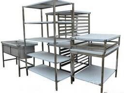 Мебель из нержавеющей стали для профессиональной кухни
