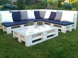 Мебель из поддонов, мебель в стиле Loft, садовая мебель