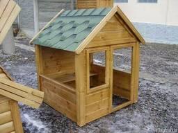Домики детские деревянные Харьков
