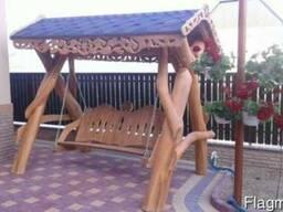 Мебель стол лавки качели c дуба садовая оригинальная ручной