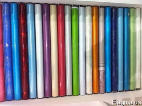 Мебельная глянцевая пленка ПЭТ для МДФ фасадов и накладок.