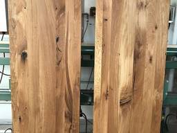 Мебельный щит дуб Супер Рустик, 40мм, цельнолам