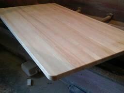 Мебельный щит ясень тол. 40 мм